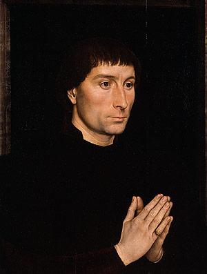 Tommaso di Folco Portinari Maria Portinari (Maria Maddalena Baroncelli born 1456) probably 1470 | Hans Memling | Oil Painting