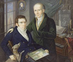 Joseph and Karl August von Klein ca 1810 | Heinrich Franz Schalck | Oil Painting