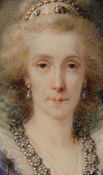 Maria Louisa (1745 1792) Empress of Austria ca 1790   Heinrich Friedrich Feeer   Oil Painting