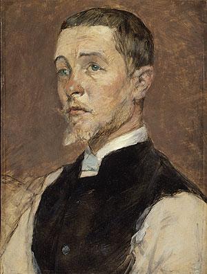 Albert (Ren Grenier) 1887 | Henri de Toulouse Lautrec | Oil Painting