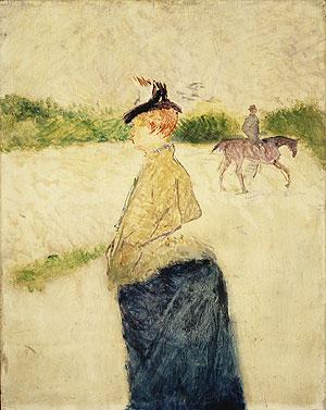 Eilie late 1890s | Henri de Toulouse Lautrec | Oil Painting