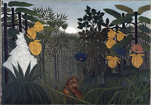 The Repast of the Lion ca. 1907 | Henri Julien Feix Rousseau (le Douanier) | Oil Painting