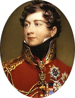 George IV (1762 1830) as Prince Regent after Lawrence 1816 | Henry Bone | Oil Painting