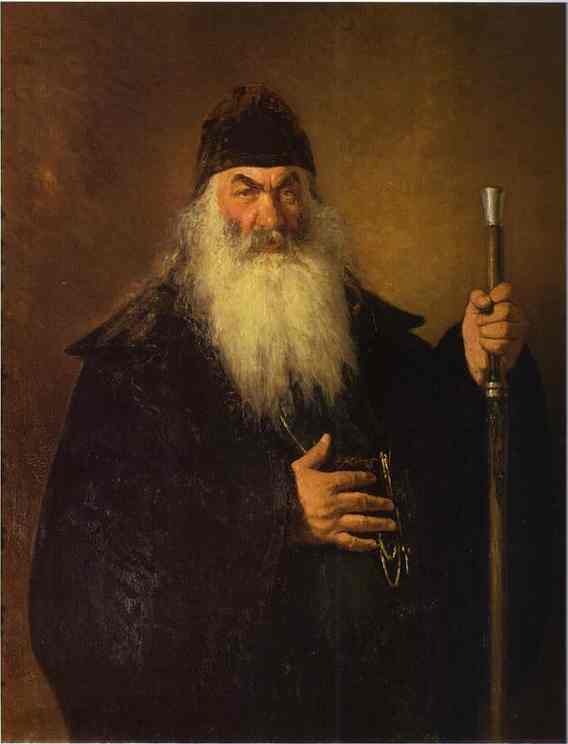 An Archdeacon 1877 | Ilya Repin | Oil Painting