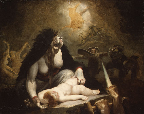 The Night Hag Visiting Lapland Witches 1796 | Henry Fuseli | Oil Painting