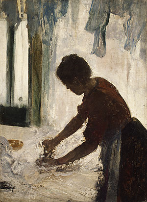 A Woman Ironing 1873 | Edgar Degas | Oil Painting