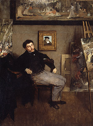 James Jacques Joseph Tissot | Edgar Degas | Oil Painting