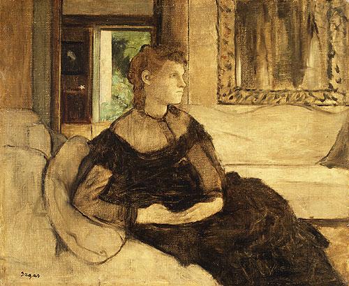 Madame Thedore Gobillard 1869 | Edgar Degas | Oil Painting