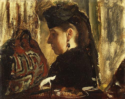Mademoiselle Marie Dihau | Edgar Degas | Oil Painting