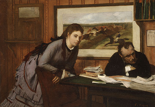 Sulking ca. 1870s | Edgar Degas | Oil Painting