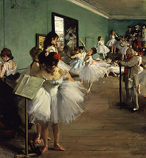 The Dance Class probably 1874 | Edgar Degas | Oil Painting