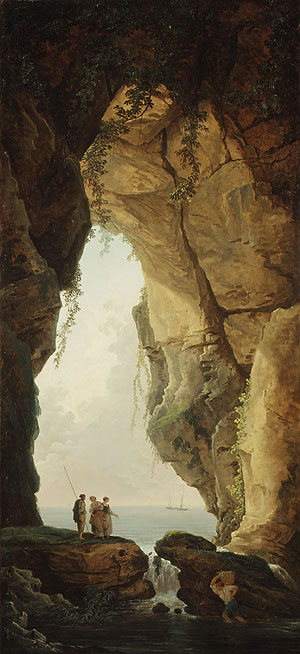 The Mouth of a Cave 1784 | Hubert Robert | Oil Painting