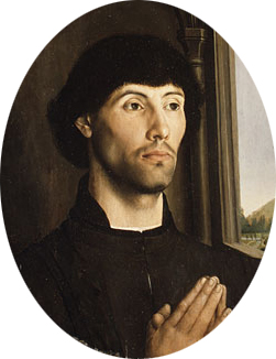 Portrait of a Man ca 1475 | Hugo van der Goes | Oil Painting