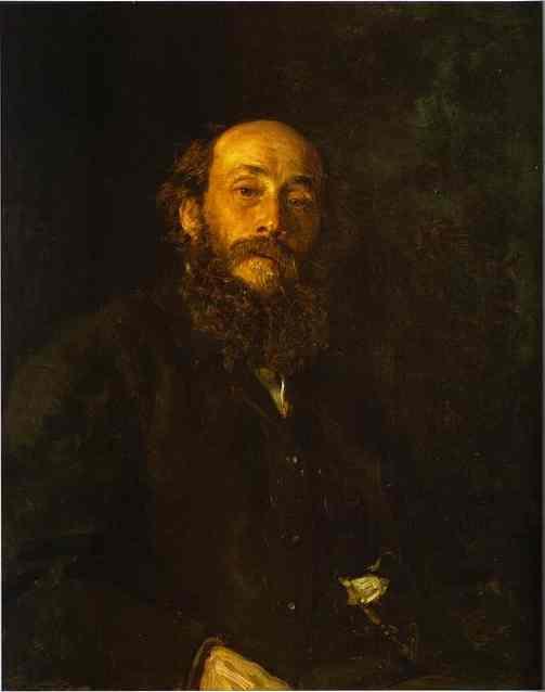 Portrait Of The Artist Nikolay Gay 1880 | Ilya Repin | Oil Painting