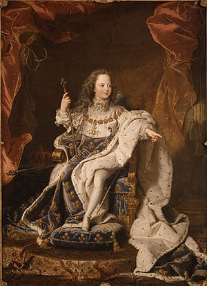 Louis XV as a Child | Hyacinthe Rigaud | Oil Painting