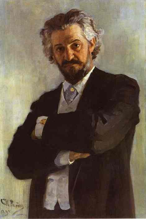 Portrait Of The Chello Player Alexander Verzhbilovich 1895 | Ilya Repin | Oil Painting