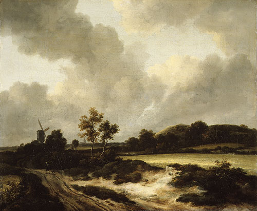 Grainfields ca 1665 | Jacob Isaacksz van Ruisdael | Oil Painting