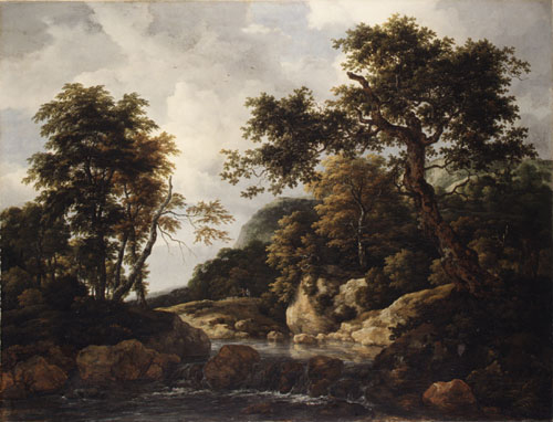 The Forest Stream ca 1660 | Jacob Isaacksz van Ruisdael | Oil Painting