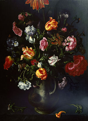 A Vase of Flowers ca 1618 | Jacob Vosmaer | Oil Painting