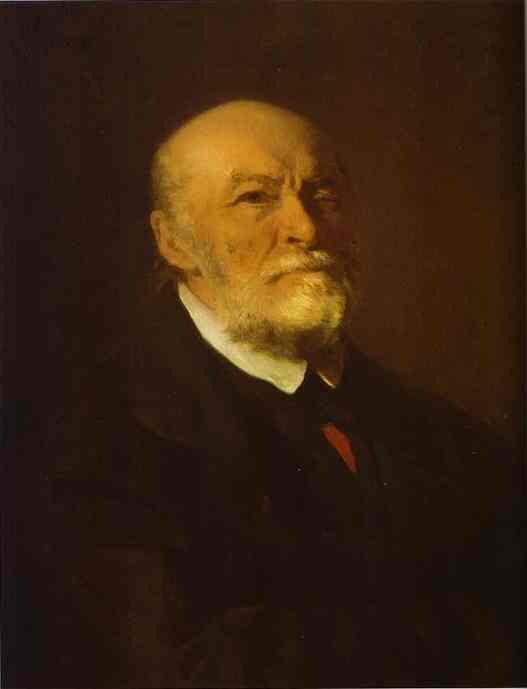 Portrait Of The Surgeon Nikolay Pirogov 1881   Ilya Repin   Oil Painting