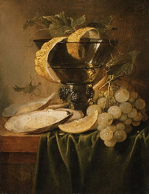 Still Life with a Glass and Oysters ca 1640 | Jan Davidsz. de Heem | Oil Painting