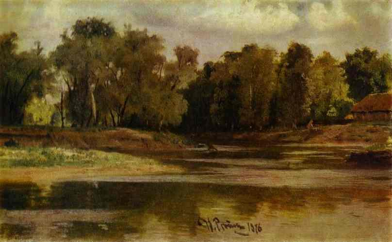 River Bank 1876 | Ilya Repin | Oil Painting
