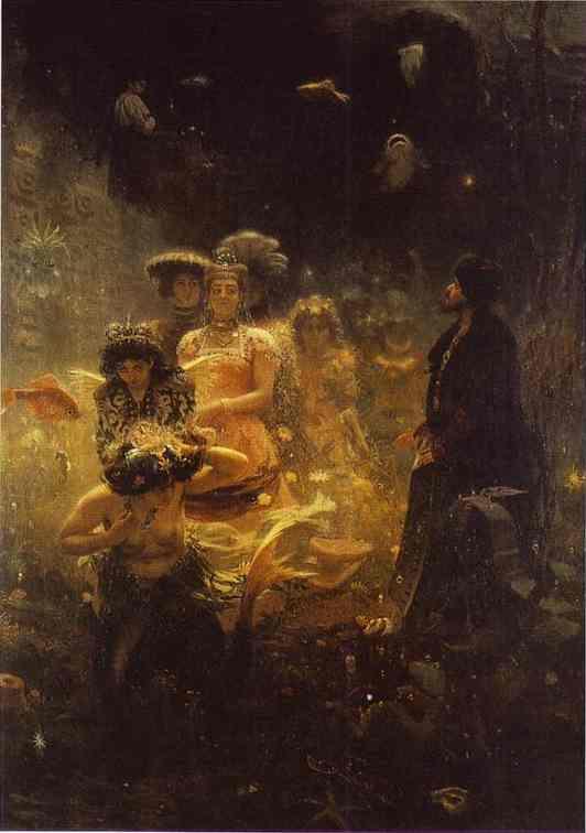 Sadko 1876 | Ilya Repin | Oil Painting