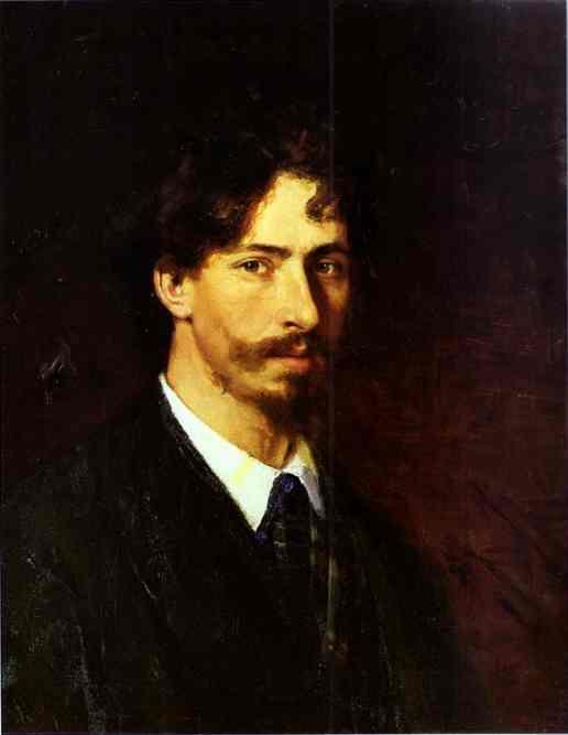 Self Portrait 1878 | Ilya Repin | Oil Painting