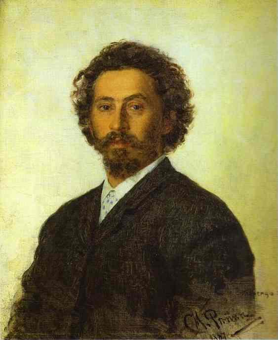 Self Portrait 1887 | Ilya Repin | Oil Painting
