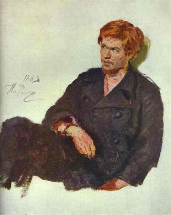 Student Nihilist 1883 | Ilya Repin | Oil Painting