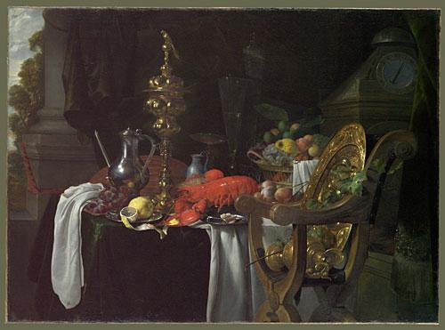 Still Life A Banqueting Scene 1670s | Jan Jansz de Heem | Oil Painting
