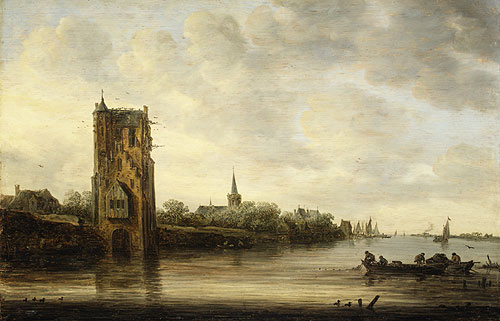 The Pelkus Gate near Utrecht 1646 | Jan Josephsz van Goyen | Oil Painting