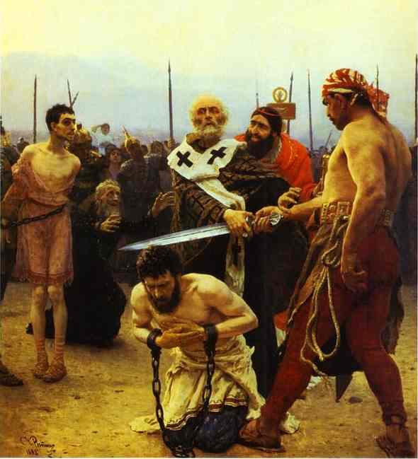 St Nicholas Saves Three Innocents From Death 1888 | Ilya Repin | Oil Painting