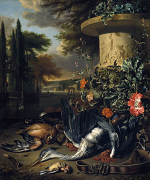 Falconers Bag 1695 | Jan Weenix | Oil Painting