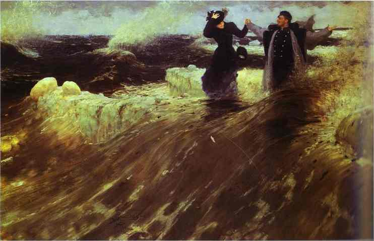 What A Freedom 1903 | Ilya Repin | Oil Painting