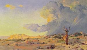 The Answered Prayer | Ira Diamond Gerald Cassidy | Oil Painting