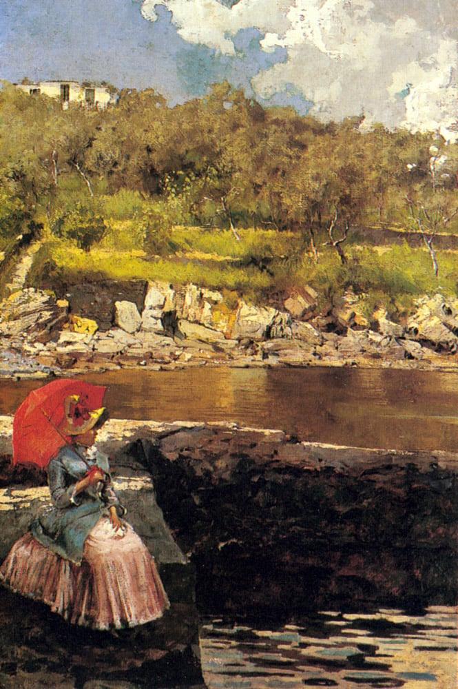 The Red Paraso | Isidoro Farina | Oil Painting