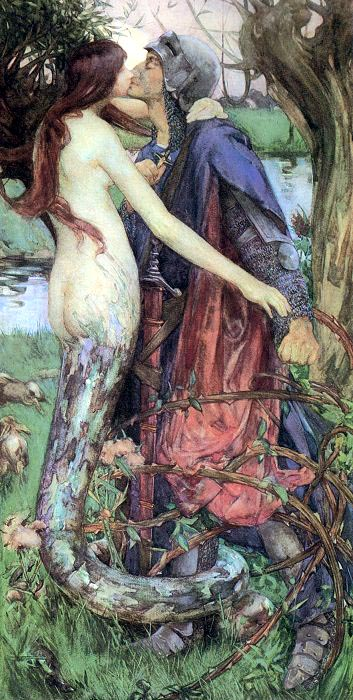The Kiss Of The Enchantress 1890 | Isobel Lilian Gloag | Oil Painting