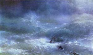 The Billow | Ivan Aivazovsky | Oil Painting