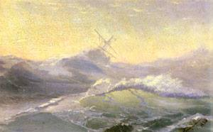Bracing The Waves | Ivan Aivazovsky | Oil Painting