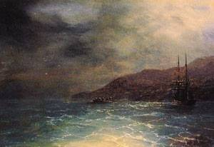 Nocturnal Voyage | Ivan Aivazovsky | Oil Painting