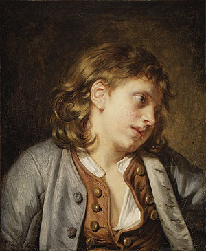 A Young Peasant Boy | Jean Baptiste Greuze | Oil Painting