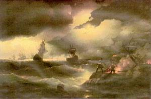 Peter 1846 | Ivan Aivazovsky | Oil Painting
