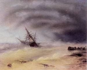 Storm 1872 | Ivan Aivazovsky | Oil Painting