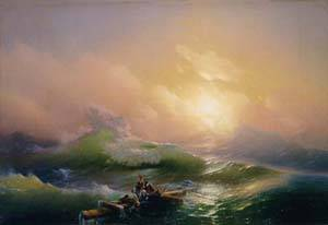The 9th Wave | Ivan Aivazovsky | Oil Painting