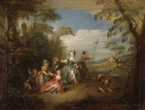 The Golden Age | Jean Baptiste Joseph Pater | Oil Painting