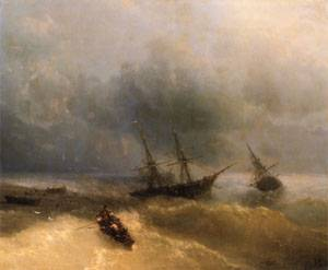 The Shipwreck | Ivan Aivazovsky | Oil Painting