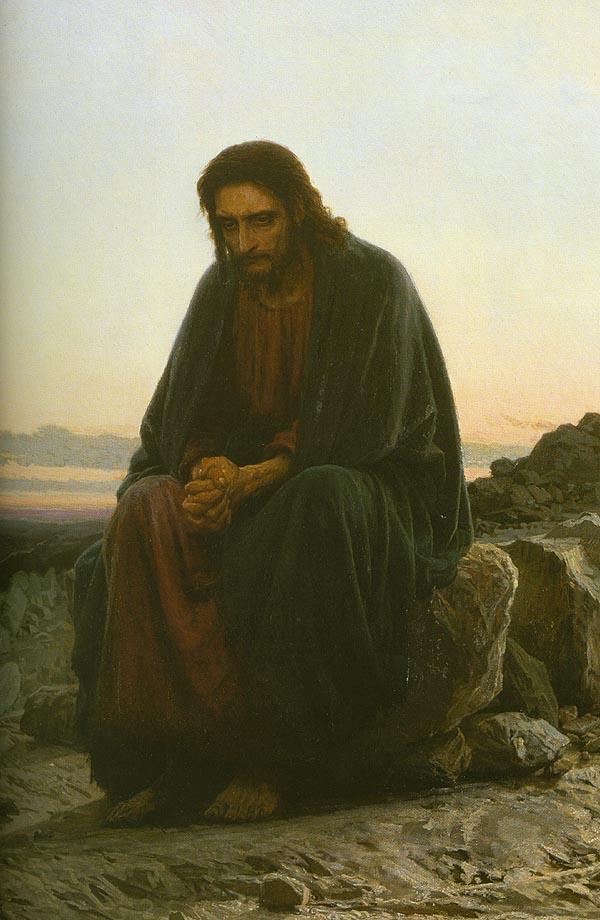 Christ | Ivan Nikolaevich Kramskoy | Oil Painting