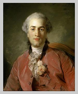 Olivier Journu 1756 | Jean Baptiste Perronneau | Oil Painting