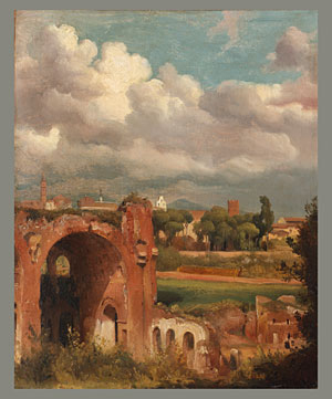 View from the Palatine Rome 1821 | Jean Charles Joseph Remond | Oil Painting
